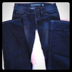 New Bootcut Guess Daredevil Jean size 28